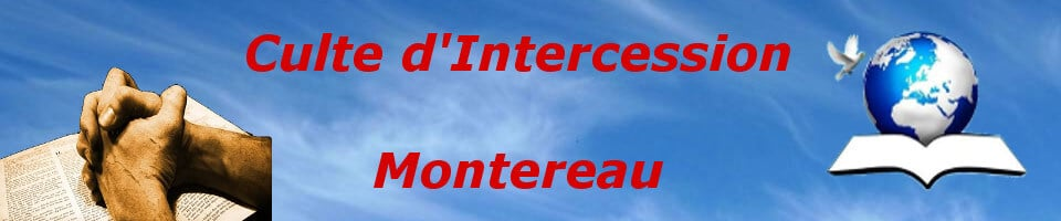 Culte d'Intercession - Montereau